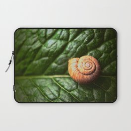 The Little Sleeping Snail Laptop Sleeve