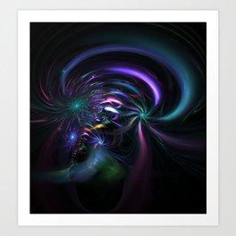Cosmic Birth Art Print