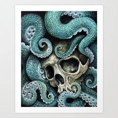 Please my love, don't die so far from the sea... Art Print