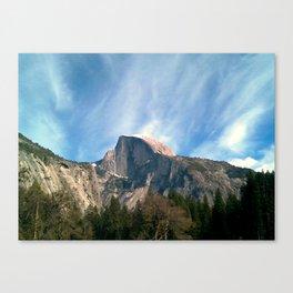 Picturesque Mountain Canvas Print