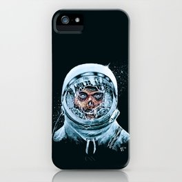 Zombie Spaceman iPhone Case