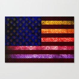50 SHADES OF PEACE - 079 Canvas Print