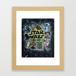 Star Warss Framed Art Print