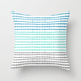 Scallops Throw Pillow