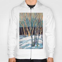 White Birch Grove / Dennis Weber / ShreddyStudio Hoody