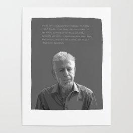 Anthony Bourdain Poster