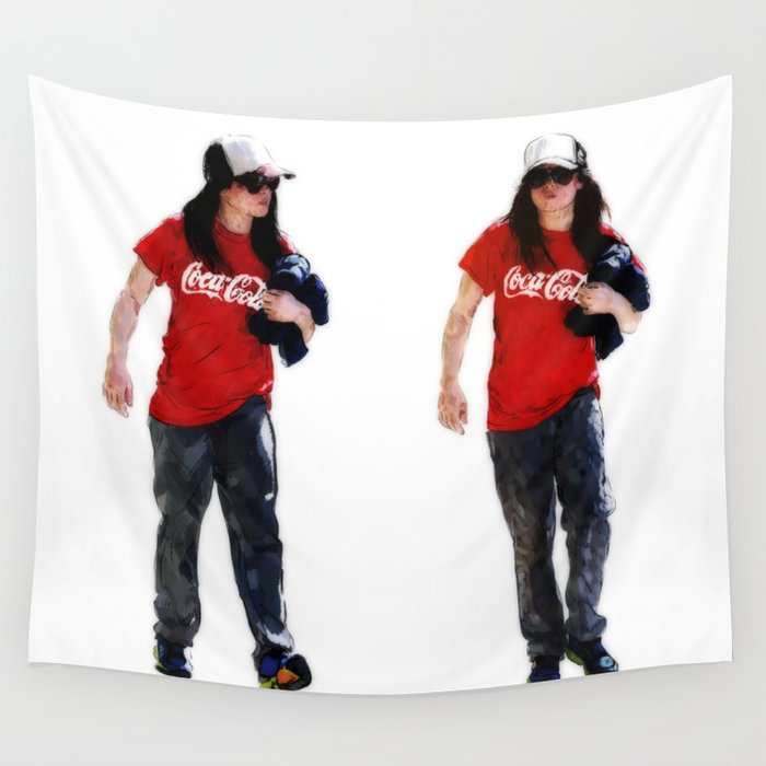 Cola Homie Wall Tapestry