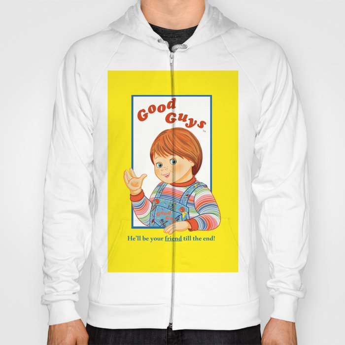 Good Guys Childs Play Chucky Hoody By Paparrazzi Society - Good guys sweatshirt