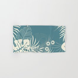Tropical pattern 047 Hand & Bath Towel