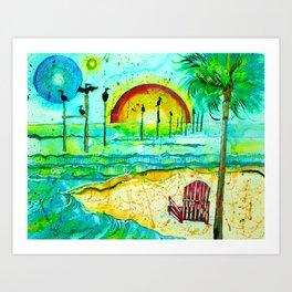 Carrabelle Art Print