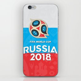 Russia world cup iPhone Skin
