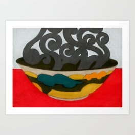Arabian Earth Art Print