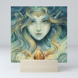 Snowqueen Mini Art Print
