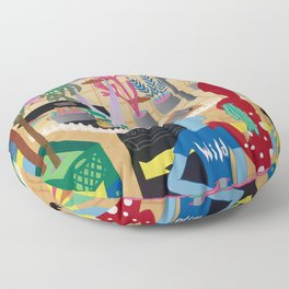 The Visitor Floor Pillow