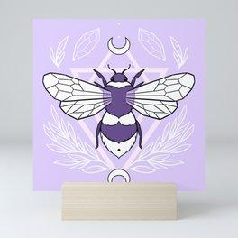 Bee Queen // Pastel Mini Art Print