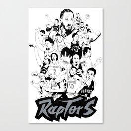 1995-2019 Raptors Canvas Print