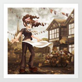 Cast Your Fête to the Wind Art Print