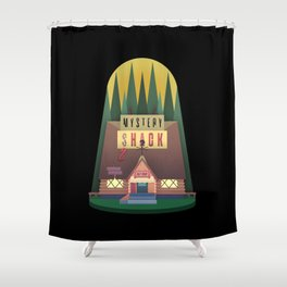 Mystery (S)hack Shower Curtain