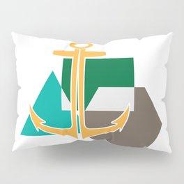 Geometric Anchor Pillow Sham