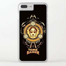 Tomb Raider I - Wheel of Adventure Clear iPhone Case
