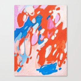 Smitten Canvas Print