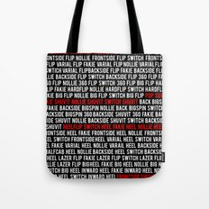 This is Flatground Only Tote Bag