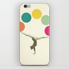 Gymnastics II iPhone & iPod Skin