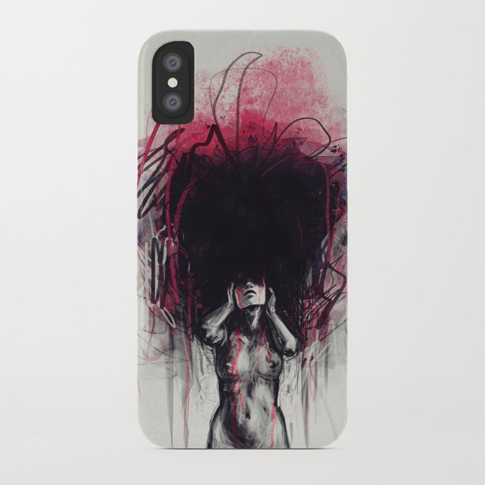 Who I wanna be iPhone Case