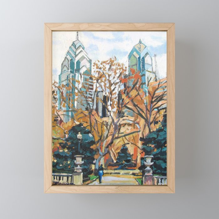 Rittenhouse Square, Philadelphia Framed Mini Art Print