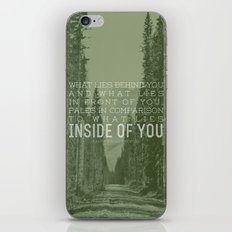 Inside of You iPhone & iPod Skin