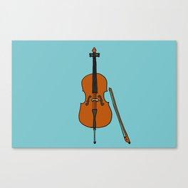Cello Canvas Print