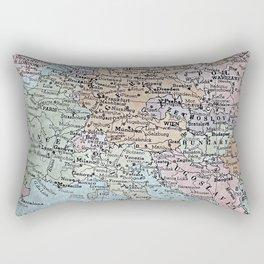old map of Europe Rectangular Pillow
