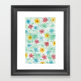 Spring is right here Framed Art Print