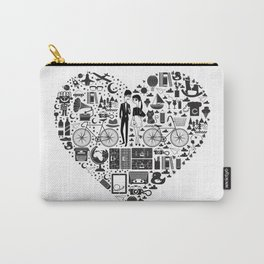 LIKES PATTERNS Carry-All Pouch