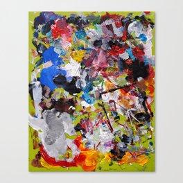 Artist palette Canvas Print