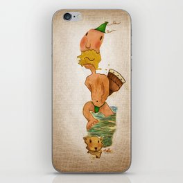 Don Djembe stain iPhone Skin