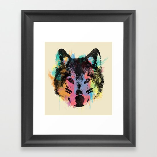 Wolf Child Framed Art Print