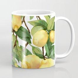 Watercolor lemon Coffee Mug