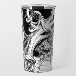 Owl's old oak is occupied by octopuses Travel Mug