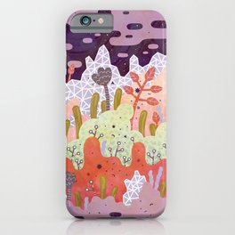 Crystal Forest iPhone Case