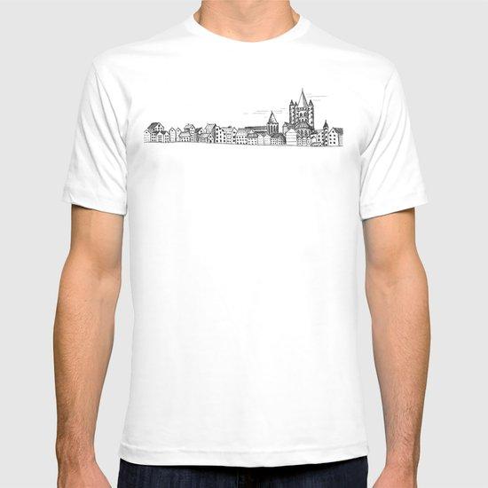sketchy town T-shirt