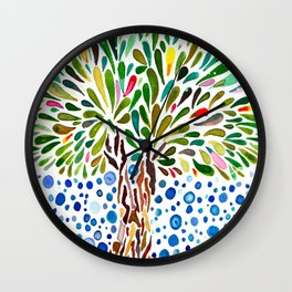 Treestory Wall Clock