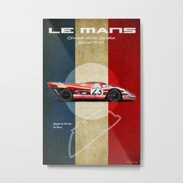 Le Mans Vintage Salzburg Metal Print