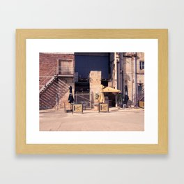 Cockatoo Island Coffee Shop Framed Art Print