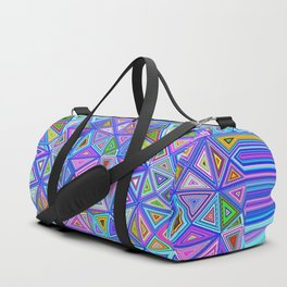 Patchwork Triangles Duffle Bag