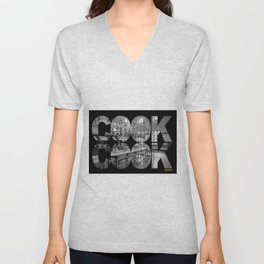 Cook's Kitchen Unisex V-Neck