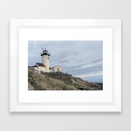 Eastern Point Lighthouse Framed Art Print