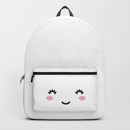 Happy Cute Face Backpack