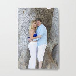 Kelly & Mick - Maui Tree Metal Print
