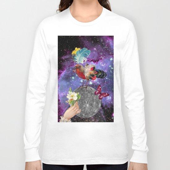 STEAMPUNK BIRD  Long Sleeve T-shirt